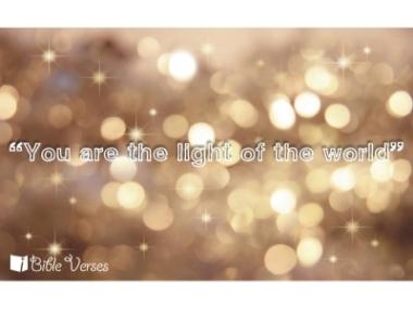 Light of the World ~ CHRISTian poetry by deborah ann ~ IBible Verses