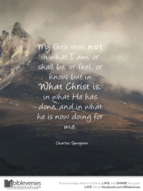 My Faith Rests in Christ ~ CHRISTian poetry by deborah ann ~ IBible Verses