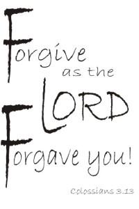 Forgive ~CHRISTian poetry by deborah ann ~