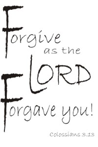Forgive ~CHRISTian poetry by deborah ann ~