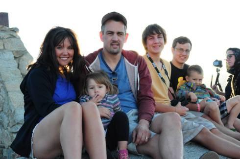 Sarah, Gwen, GLENN, Josh, Tyler and Mason Swindell