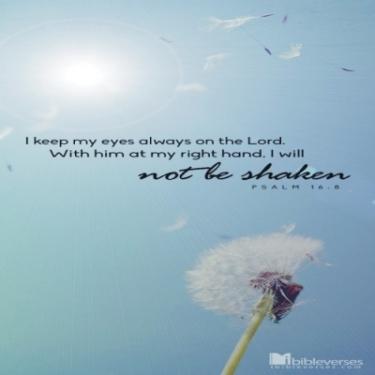 Nothing Can Shake Me ~  CHRISTian poetry by deborah ann