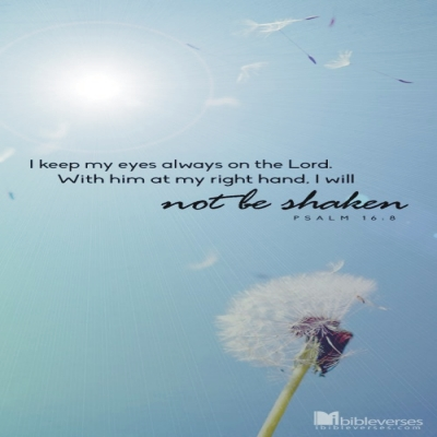 Nothing Can Shake Me ~  CHRISTian poetry by deborah ann