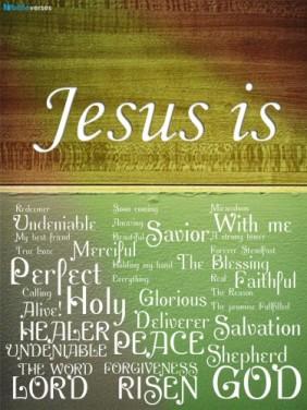 Jesus is ~ CHRISTian poetry by deborah ann ~