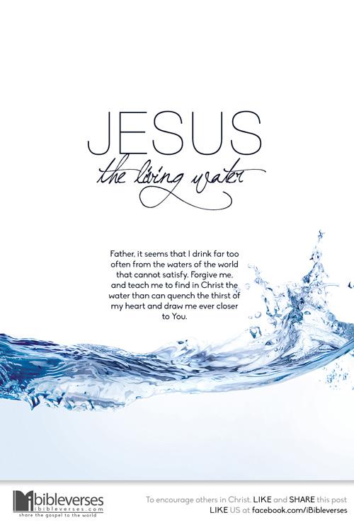 Jesus the Living Water ~ CHRISTian poetry by deborah ann ...