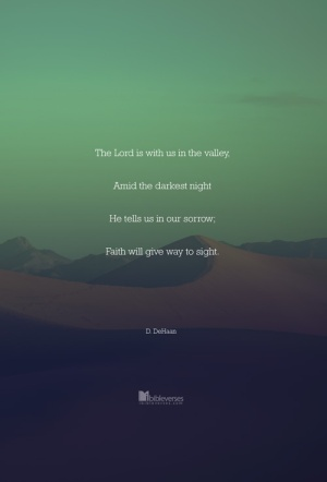 ~CHRISTian poetry by deborahann ~ the-lord-is-with-us-in-the-valley