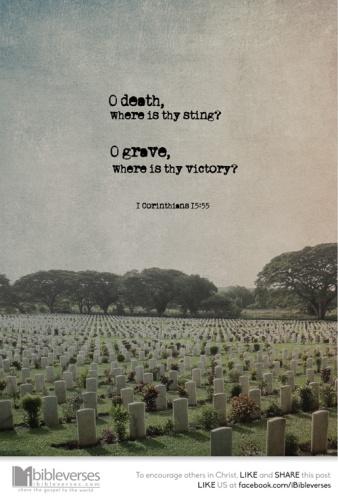 o-death-where-is-thy-sting ~ CHRISTian poetry bydeborahann ~