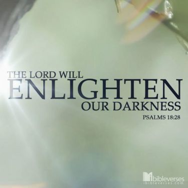 ~ CHRISTian poetry by deborahann ~ God Will Enlighten IBible Verses