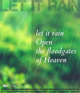 ~ CHRISTian poetry by deborahann ~ letitrain IBible Verses