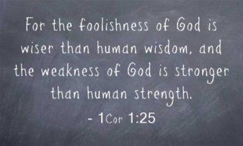 ~ CHRISTian poetry by deborah ann ~God is Wiser - IBible Verse