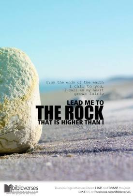 ~ CHRISTian poetry by deborahann ~ The High Rock - IBible Verses