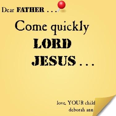 Sticky Note To God 10.10.14
