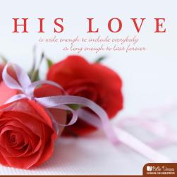 Because He First Loved Me ~ CHRISTian poetry by deborah ann ~