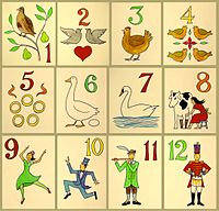 CHRISTian poetry by deborah ann - Twelve Days of Chirstian - image Wikipedia Common