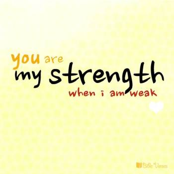 ~ CHRISTian poetry by deborah ann ~ Your are My Strength IBible Verses