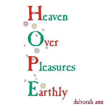 Hope ~ CHRISTian poetry by deborah ann