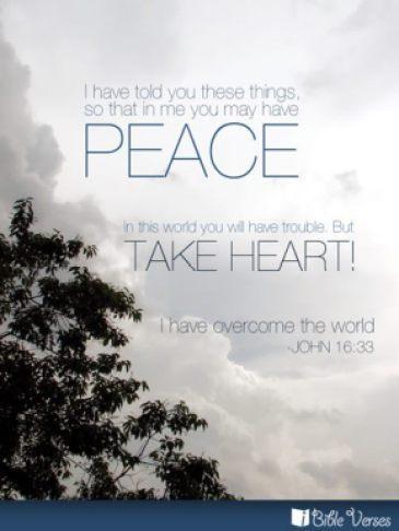 ~ CHRISTian poetry by deborahann ~Peace - IBible Verses