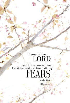 he-delivered-me-from-all-my-fears Used with permission IBible Verses
