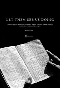 Let Them See used with permission IBible Verses