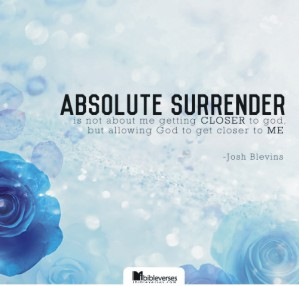 absolute-surrender CHRIStina poetry by deborah ann