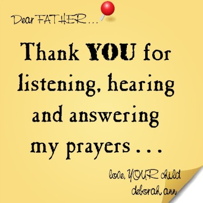 CHISTian Poetry by Deborah Ann ~ Sticky Note To God ~ 02.16.15