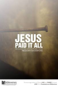 Jesus' Dying Breath ~ CHRISTian poetry by deborah ann ~Jesus Paid it All - IBible Verse