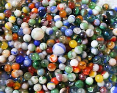 Losing It ~CHRISTian Poetry by Deborah Ann ~ Marbles pic from flickr ~