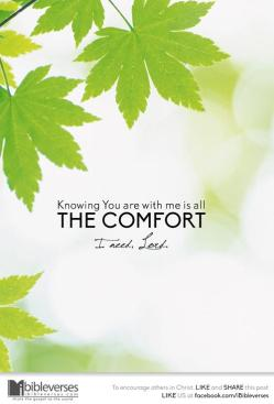 My Helper ~ CHRISTian poetry by deborah ann ~All The Comfort I Need - IBible Verse