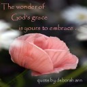 Quote of the Day ~ God's Grace ~