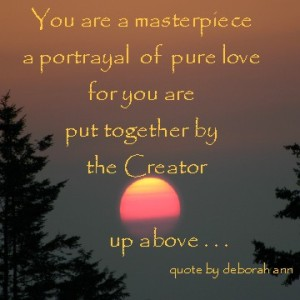 Snippet of the Day ~ CHRISTian poetry by deborah ann ~