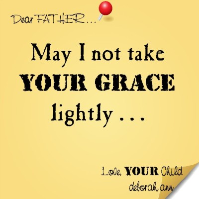 Sticky Note To God ~ CHISTian Poetry by Deborah Ann ~ 04.20.15 ~