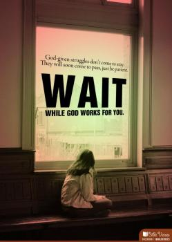 Waiting for God ~ CHRISTian poetry by deborah ann ~ IBible Vereses Photo