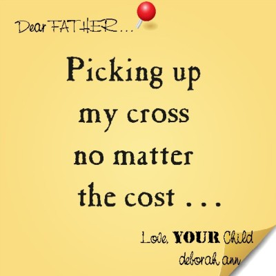 Sticky Note To God ~ CHISTian Poetry by Deborah Ann ~ 06.30.150~