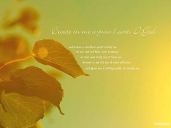 A Clean Heart ~ CHRISTian poetry by deborah ann