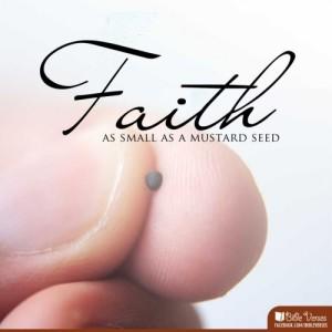 Mustard Seed Faith ~ CHRISTian poetry by deborah ann ~