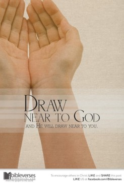 Drawing Nearer ~ CHRISTian poem by deborah ann ~