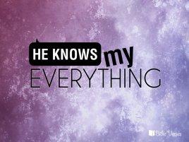 God Knows ~ CHRISTian poetry by deborah ann ~