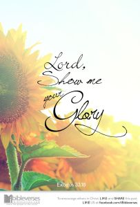 I Want To See God's Glory ~ CHRISTian poetry by deborah ann ~