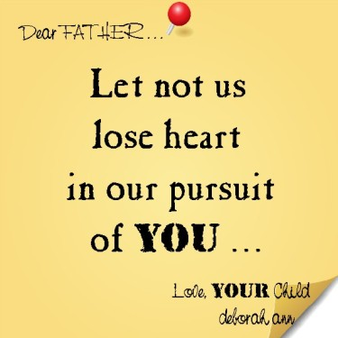 Sticky Note To God ~ CHISTian Poetry by Deborah Ann ~ 08.06.15 ~
