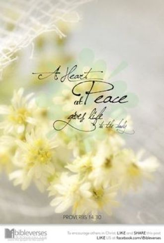 A Heart Full of Peace ~ CHRISTian poetry by deborah ann