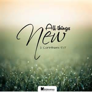 All Things New ~ CHRISTian poetry by deborah ann
