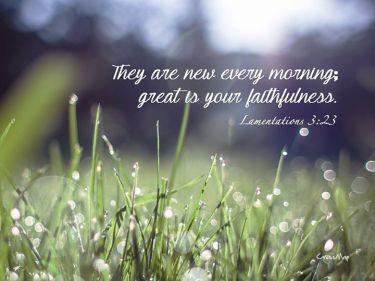 His Faithful Mercy ~ CHRISTian poetry by deborah ann ~