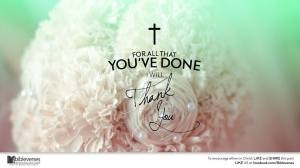 Thank You Jesus ~ CHRISTian poetry by deborah ann ~