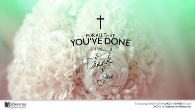 Thank You Jesus ~ CHRISTian poetry by deborah ann ~