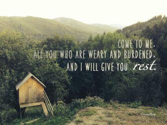 Oh, Weary Ones ~ CHRISTian poetry by deborah ann ~