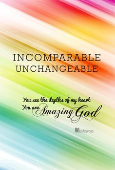 UNCHAGEABLE ~ CHRISTian poetry by deborah ann