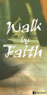 Walking by Faith ~ CHRISTian poetry by deborah ann ~