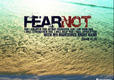 Fear Not ~ CHRISTian Poetry by Deborah Ann