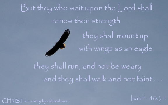 Sometimes We Soar ~ | CHRISTian poetry ~ by deborah ann