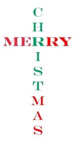 Merry CHRISTmas ~ CHRISTian poetry by deborah ann